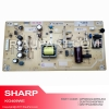 POWER SUPPLY REGULATOR TV SHARP LC-32LE265M LC-32LE265I LC32LE265 LC-32LE260M LC-32LE260I LC32LE260 PART CODE QPWBGG409WJN2 KG409W