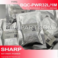 IC KIT REPAIR PSU SHARP LC-32LE260 LC-32LE265 LC32LE260 LC32LE265 CODE BQC-PWR32L