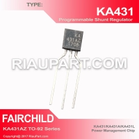 IC KA431AZ KA431A KA431 KIA431 TL431AZ TL431A TL431 431 TO-92