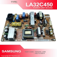 POWER SUPPLY  REGULATUR SAMSUNG LA32C450 32C450 PART CODE PSLF121401A