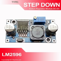 LM2596 3A adjustable DC-DC step down module buck converter in 3.2V-46V