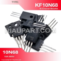ORIGINAL IC KF10N68 10N68 10A 680V N-CHANEL MOSFET