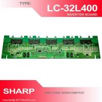INVERTER SHARP LC-32L400M LC-32M300M  LC32L400 32L400 LC32M300 32M300 CODE RDENC2590TPZZ