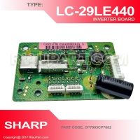 SHARP LC-39LE440M LC-29LE440M INVERTER PART CODE CP7003CP7002