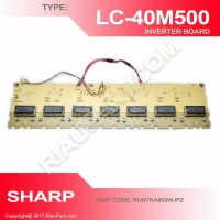 SHARP LC-40M500M MODULE INVERTER LIGHT PART CODE RUNTKA862WJPZ