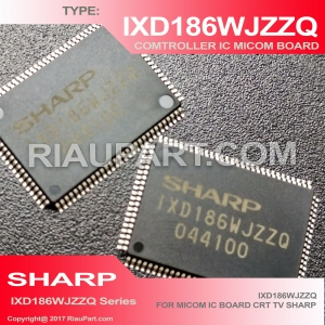 ORIGINAL IC IXD186WJZZQ SMD LOGIC SHARP