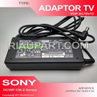ORIGINAL ADAPTOR TV SONY BRAVIA 19.5V 4.7A FOR 19-50 INCHI