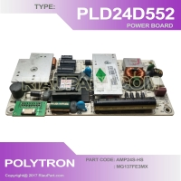POWER SUPPLY - REGULATOR TV LED POLYTRON PLD-24D552 - PLD24D552 AMP24S MG137FE3MX