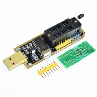 Alat Flash Mainboard TV CH341A LCD Flash Usb Programmer SPI EEPROM