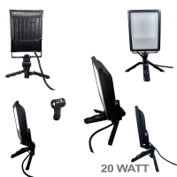 LAMPU MINI STUDIO FOTO 20 WATT LED MODEL PENDEK DIFFUSER SYSTEM