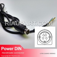 KABEL BUNTUNG POWER DIN 4 PIN AWG24 TINGGAL PASANG COLOKAN