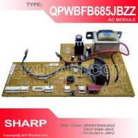 MODUL AC SHARP QPWBFB685JBZZ