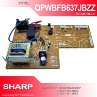 MODUL AC SHARP QPWBFB637JBZZ