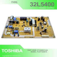 REGULATOR POWER SUPPLY TOSHIBA 32L5400 V71A000311A0 PLSF720401A