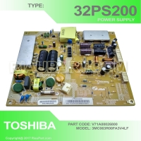 PSU - REGULATOR TV POWER SUPPLY TOSHIBA 32PS200 V71A00026800 L063R001L