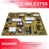 PSU - REGULATOR TV SHARP LC-50LE275X 50LE275 RUNTKB385WJQZ JSL8098-003