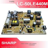 PSU REGULATOR TV POWER SUPPLY TV SHARP LC-50LE440M CPP-3400ST