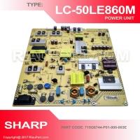 PSU REGULATOR TV SHARP LC-50LE860M 50LE860 PART CODE 715G6744-P01-000-003E