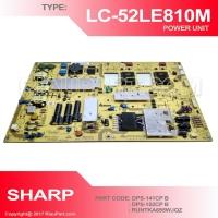 PSU REGULATOR TV SHARP LC-52LE810M 52LE810 DPS-141CP B DPS-152CP B RUNTKA695WJQZ