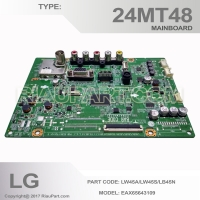 MAINBOARD MESIN TV LG LED LG 24MT48 EAX65643109 LW45A LW45S LB45N