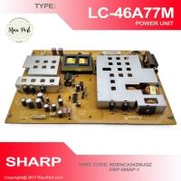 PSU REGULATOR TV SHARP LC-46A77M 46A77 RDENCA342WJQZ DSP-285AP-1