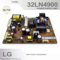 Power Supply Regulator PSU TV LG 32LN4900 - LGP32-13PL1 - EAX64905001