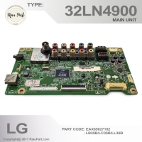 MAINBOARD MESIN TV LG LED LG 32LN4900 PCB CODE EAX65027102