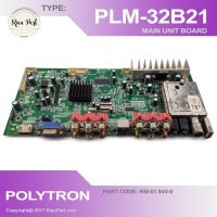 MESIN TV - MAINBOARD MOBO TV LED POLYTRON PLM32B21 32B21