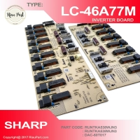 INVERTER TV SHARP LC-46A77M 46A77 PART CODE DAC-60T017