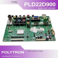 MESIN TV - MAIN UNIT - MAINBOARD TV LCD POLYTRON PLD22D900 PLD22D901 - PLD-22D901 - PLT59S
